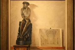 Groninger Museum 150 Dirk Nijland - 1950 - Christusbeeld met Prent