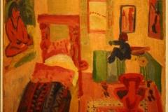 Groninger Museum 175 Jan Wiegers - 1925 - Slaapkamer van Kirchner