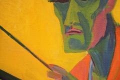 Groninger Museum 177 Herman Scherer - 1925 - Een Schilder in zijn Atelier [detail]
