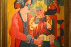 Groninger Museum 178 Ernst Ludwig Kirchner - 1919 - Meisje met Kind