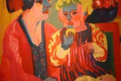 Groninger Museum 180 Ernst Ludwig Kirchner - 1919 - Meisje met Kind