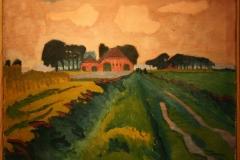 Groninger Museum 184 Jan Altink - 1924 - De rode boerderij
