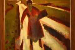 Groninger Museum 185 Jan Altink - 1925 - Koopvrouw op landweg