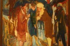 Groninger Museum 194 George Martens - 1927 - Roddel in de regen