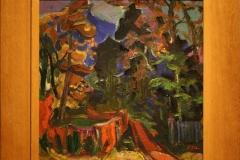 Groninger Museum 196 Jan Gerrit Joordens - 1926 - Landschap bij Vosbergen