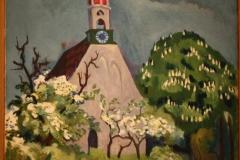 Groninger Museum 197 Ekke Abel Kleima - 1939 ca - Kerkje te Breede