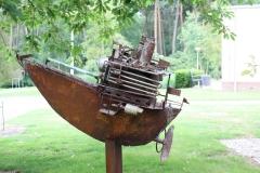 Artwalk-Hornerheide-010-Jan-Verschueren-Bone-boat