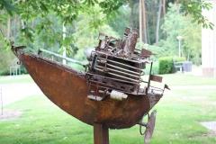 Artwalk-Hornerheide-011-Jan-Verschueren-Bone-boat