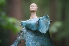 Artwalk-Hornerheide-215-Marie-José-van-der-Meer-Lady-in-blue-detail