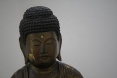 Japan - 18de eeuw - Boeddha Amida [detail]