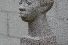 Charlotte van Pallandt - 1939 - Kop van een Negerin [Josefa]