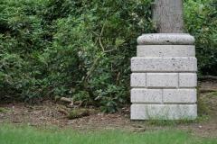 Ian Hamilton Finlay - 1980-1982 - Sacred Grove; five Columns for the Kröller-Müller 5