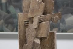 Jacques Lipchitz - 1921 - Zittende Man met Gitaar 4