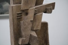 Jacques Lipchitz - 1921 - Zittende Man met Gitaar [detail 2]