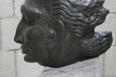 John Rädecker - 1933 - Gelaat en profil 1