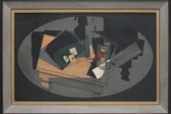 Juan Gris -1916 - Speelkaarten en Sifon 1
