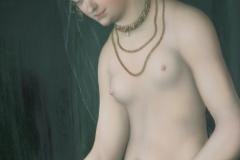 Lucas Cranach de Oude - na 1537 - Venus met Amor als Honingdief [detail] 1
