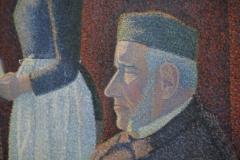 Paul Signac - 1886-1887 - Het Ontbijt [detail 1]