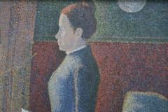 Paul Signac - 1886-1887 - Het Ontbijt [detail 2]