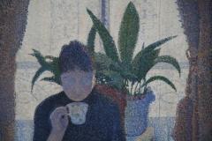 Paul Signac - 1886-1887 - Het Ontbijt [detail 3]