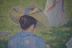 Théo van Rysselberghe - 1890 - De Boomgaard of De Familie In de Tuin [detail 2]