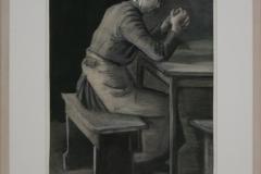 Vincent van Gogh - 1882-1883 - Gebed voor de Maaltijd