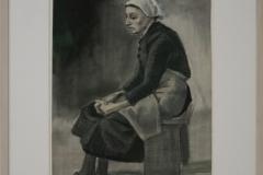 Vincent van Gogh - 1883 - Zittende vrouw 1