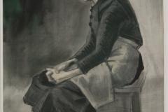 Vincent van Gogh - 1883 - Zittende vrouw 2