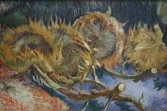 Vincent van Gogh - 1887 - Vier Uitgebloeide Zonnebloemen 1