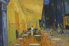 Vincent van Gogh - 1888 - Caféterras bij Nacht [Place du Forum] [detail]