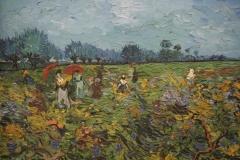 Vincent van Gogh - 1888 - De Groene Wijngaard [detail]