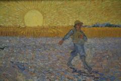 Vincent van Gogh - 1888 - De Zaaier [detail]
