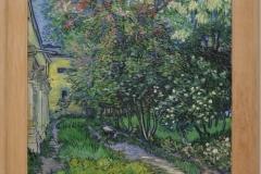 Vincent van Gogh - 1889 - De Tuin van de Inirchting in Saint-Rémy