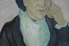 Vincent van Gogh - 1890 - L'Arlésienne [portret van Madame Ginoux] 2
