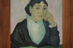 Vincent van Gogh - 1890 - L'Arlésienne [portret van Madame Ginoux]