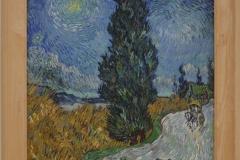 Vincent van Gogh - 1890 - Landweg in de Provence bij Nacht 1