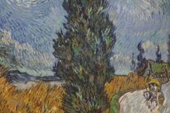 Vincent van Gogh - 1890 - Landweg in de Provence bij Nacht 2