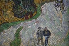 Vincent van Gogh - 1890 - Landweg in de Provence bij Nacht [detail]