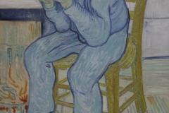 Vincent van Gogh - 1890 - Treurende Oude Man