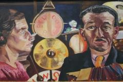 Charley Toorop - 1927 - Muzikanten en Dansende Boeren [detail 1]