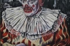 Charley Toorop - 1940-1941 - Clown voor Ruïnes van Rotterdam 2