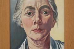 Charley Toorop - 1953-1954 - Zelfportret