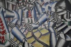 Fernand Léger - 1917 - Kaartspelende Soldaten [detail]