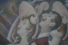 Georges Seurat - 1889-1890 - Le Chahut [detail 1]