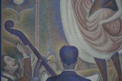 Georges Seurat - 1889-1890 - Le Chahut [detail 2]