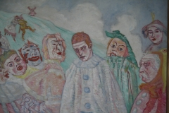 James Ensor - 1910 ca - De Bedroefde Pierrot 2