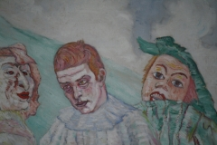 James Ensor - 1910 ca - De Bedroefde Pierrot [detail 2]