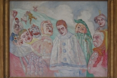 James Ensor - 1910 ca - De Bedroefde Pierrot