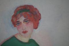 Jan Sluijters - 1912 ca - Compositie [aardse en hemelse liefde] [detail 2]