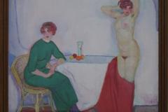 Jan Sluijters - 1912 ca - Compositie [aardse en hemelse liefde]